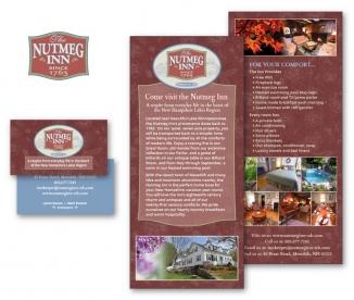 Nutmeg Inn B&B brand identity