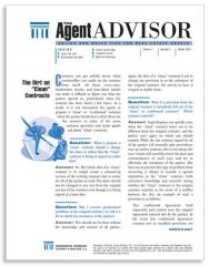 Agent Advisor newsletter
