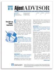 Agent Advisor newsletter