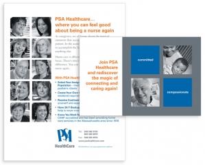 PSA Healthcare mailer