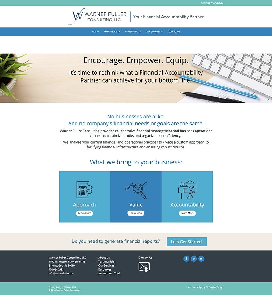 Warner Fuller home page