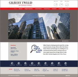 Gilbert Tweed website