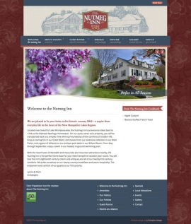 Nutmeg Inn home pg